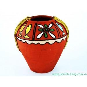 Bình hoa gốm phù lãng BH35