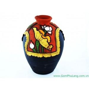 Bình hoa gốm phù lãng BH43