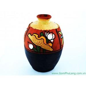 Bình hoa gốm phù lãng BH52