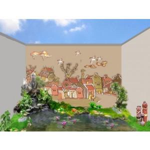 Thiết kế tiểu cảnh sân vườn TKTC11