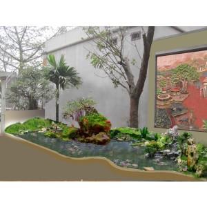 Thiết kế tiểu cảnh sân vườn TKTC17