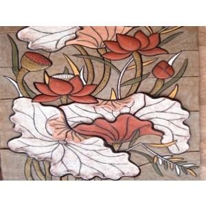 Tranh hoa sen - THS18